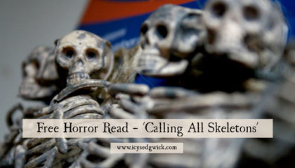 Got skeletons in the closet? Check out this free horror read, inspired by the Alkaline Trio song Calling All Skeletons, to see why that might not be the best move you've ever made...