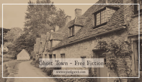 This Friday Flash is a play on words for the term 'ghost town'. It's only 567 words long so it's a perfect coffee break read, and completely free!