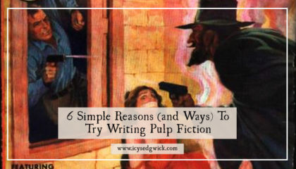 Do you want to try writing something that'll be as much fun to create as it will be to read? Try your hand at writing pulp fiction!