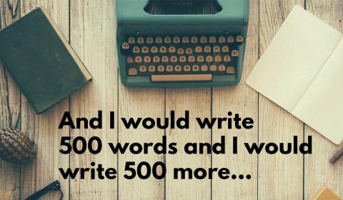 500 words challenge
