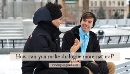 When you first start writing, your characters might sound stilted, or too similar to one another. So how can you make dialogue more natural?