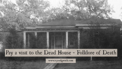 The dead house was a common occurrence in the days before refrigerated mortuaries. But are they likely to be haunted - or just eerie?
