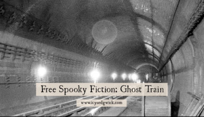 Ghost Train is set on the London Underground. Come and meet the British Museum station ghost in this chilling super short story.
