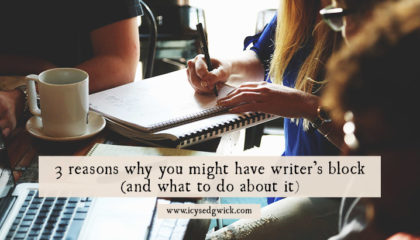 3 reasons you might have writer's block (and what to do about it)