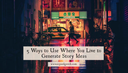 Writers are told to 'write what they know', so where better to generate ideas than from the world around you? But how do you do that? Here are 5 ways!