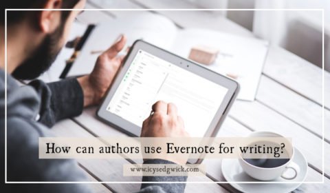 It's easy to forget ideas, lose research notes, or misplace files across devices. So can Evernote help smooth out the writing process for authors?