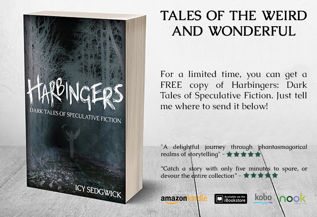 harbingers dark tales of speculative fiction