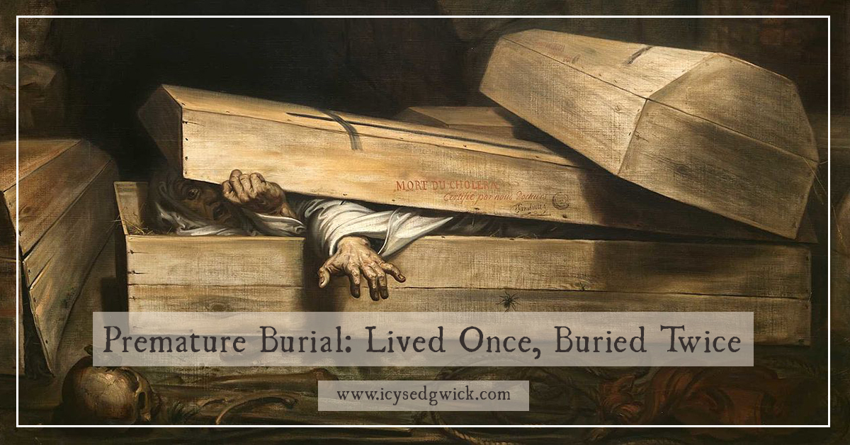 premature burial lived once buried twice urban myth or