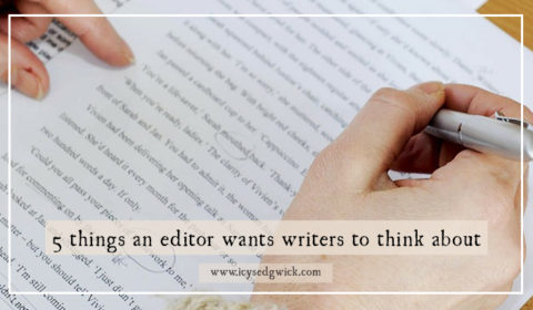 5 things an editor wants fiction writers to think about