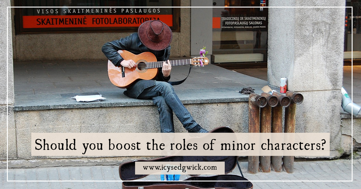 the role and importance of the minor characters Flat characters—minor figures that play a supporting role in the story—are used to move the plot along, providing subtle exposition.