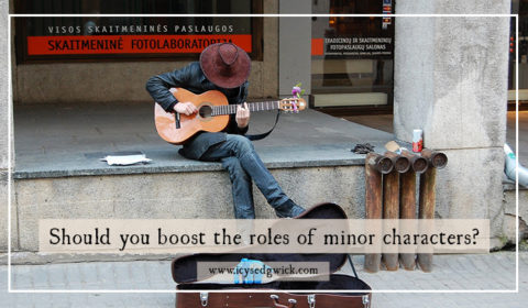 Should you boost the role of minor characters?