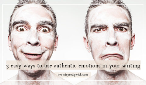 Authentic emotions are what connects your writing to your readers. Click here to discover 3 easy ways to bring emotion into your writing.