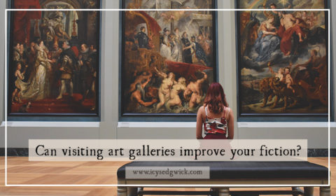 Art galleries might not seem like an obvious destination for writers, but they can help you hone your observation, find ideas, and improve your visuals! Click here to find out how.