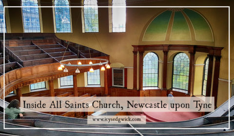 All Saints Church has been closed since 1959, and plans for new uses have repeatedly fallen through. But what does it look like inside?