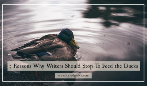 Do you feel like your writing is missing something? Try stopping to feed the ducks to see how taking a pause can improve your fiction!