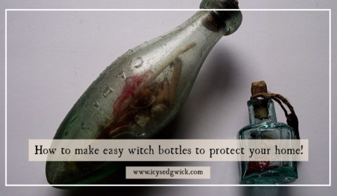 Witch bottles have been used since the 1600s to protect homes and individuals from evil spells. Are they relevant in 2019, or are they just a folk tale?