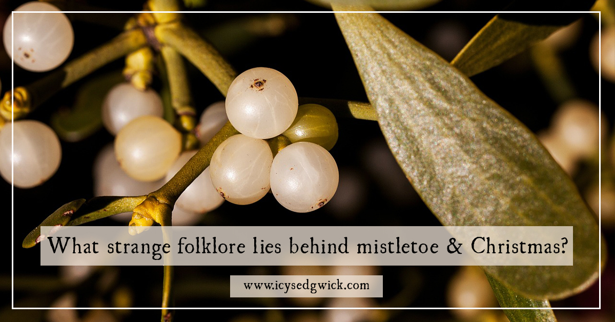 What Strange Folklore Lies Behind Mistletoe And Christmas