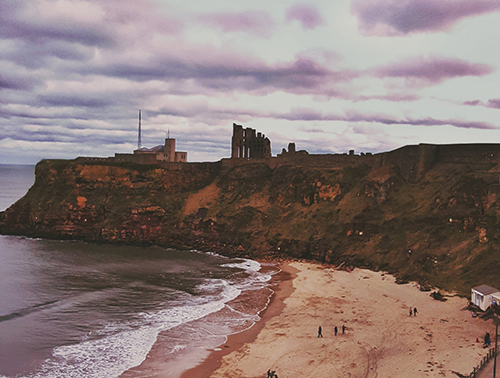 Legends tell of a vast treasure beneath Tynemouth Castle & Priory. Did Walter the Bold really find the Wizard's Cave, or does it lie there still?