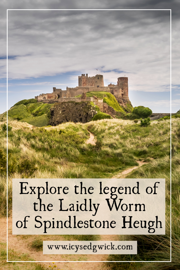 The area around Bamburgh Castle is host to the legend of the Laidly Worm. How did a brave Prince defeat this venomous dragon? Click here to read more!