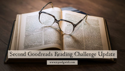 As I progress through the Goodreads 2017 Reading Challenge, how many books have I read between May and August, and which novels did I finish?