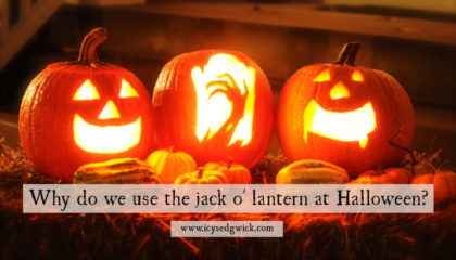 The Jack o' Lantern, like trick or treating and fancy dress, is synonymous with Halloween. But why do we use them, and where does the custom come from?