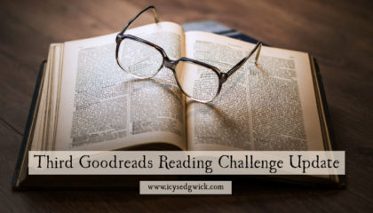 Third update on the Goodreads 2017 Reading Challenge