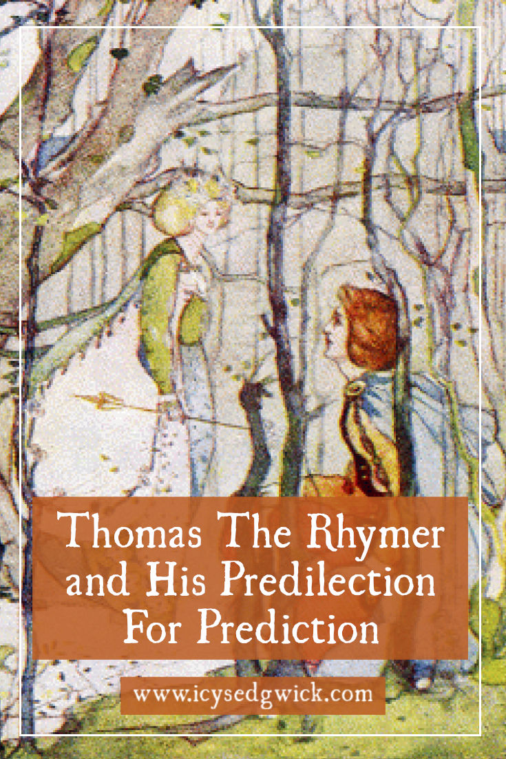 Thomas the Rhymer pops up in British folklore as a 13th-century prophet. Click here to learn how he got the gift of prediction and how he links to fairies.