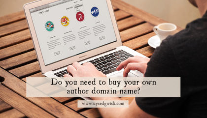 When you're starting out as an author, it's easy to try and keep costs down. But not investing in an author domain name could really hurt you. Find out why!