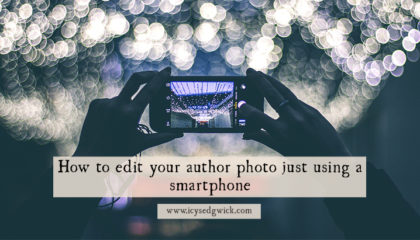 How to edit your author photo just using a smartphone