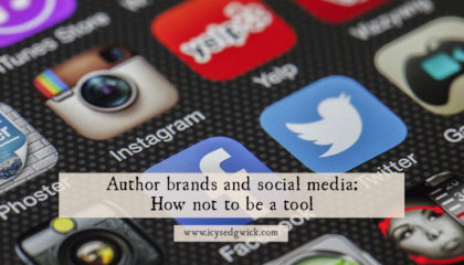 Combining author brands and social media needn't be a painful experience. It can also be a fun (and free) way to start making connections with new readers!