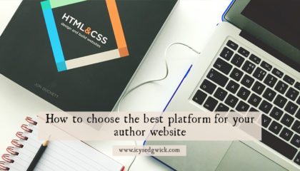 Between Squarespace, Wordpress, Wix and Weebly, how do you choose the best platform for your author website? Click here to find out.