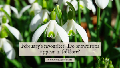 Snowdrops are the first flowers to bloom in spring. Click here to learn more about the folklore and legends around these beautiful alpine blossoms!