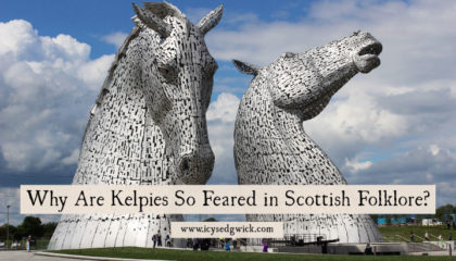 Kelpies are water horses in Scottish folklore. Unlike selkies, their appearances aren't at all welcome. Click here to find out what made them so fearsome.