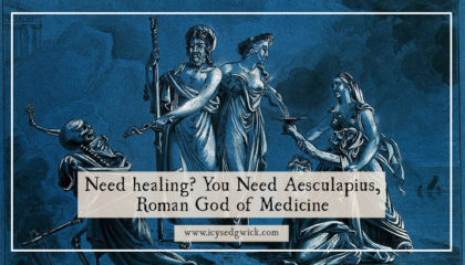 Aesculapius was the Roman God of Healing and Medicine (Asclepius in Greece). But who is he and why is he such a fascinating figure in the study of ancient Greece and Rome? Click here to meet him!