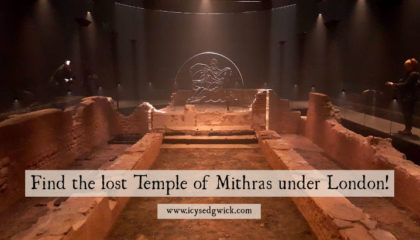 Find the lost Temple of Mithras under London!