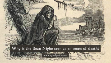 Why is the Bean Nighe seen as an omen of death?
