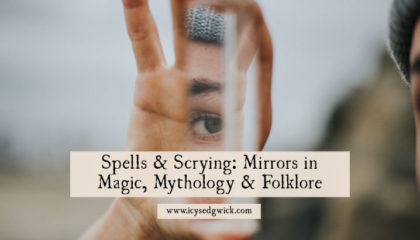 Mirrors are often linked with witches, like Snow White's Evil Queen. But how would you cast spells using mirrors? Let's look at the folklore!
