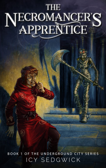 Mummies, magic, and mayhew ensure in The Necromancer's Apprentice, a dark fantasy novella described as JK Rowling meets Tim Burton!