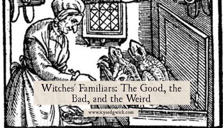 Witches' Familiars: The Good, the Bad, and the Weird - Icy