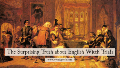The Surprising Truth about English Witch Trials