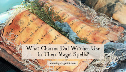 Pop culture lets witches speak cool or pithy charms. But what charms did actually witches use in reality? Let's check the historical record!
