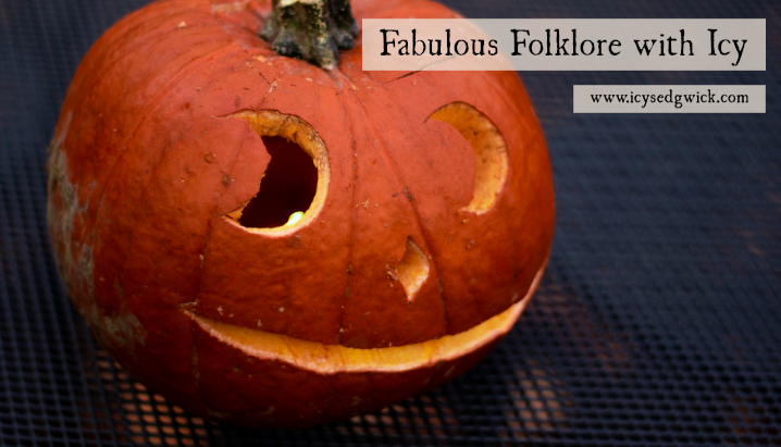 An image to advertise the Fabulous Folklore with Icy podcast and blog.