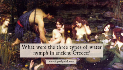 The naiads, nereids and oceanids were all water nymphs in ancient Greek mythology. But who were they and what made them different? Find out here.