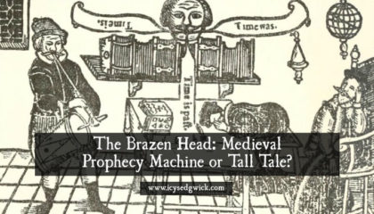 The brazen head is a legendary automaton capable of answering any question you ask of it. Was it a real fortune telling machine, or a tall medieval tale?