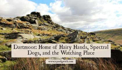 Dartmoor conjures images of wild, untamed beauty. But amid the forbidding landscape hide spectral dogs, hairy hands, and strange watchers. Learn more here.