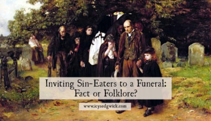Sin-eaters appear in Welsh records back to the 1680s. Were they real, or a neat snippet of folklore? Click here to learn more.