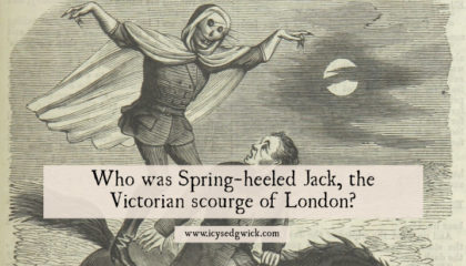 Spring-heeled Jack looms large in Victorian folklore, springing through gaslit streets. Who was he and why did he terrorise London's streets? Click here to find out!
