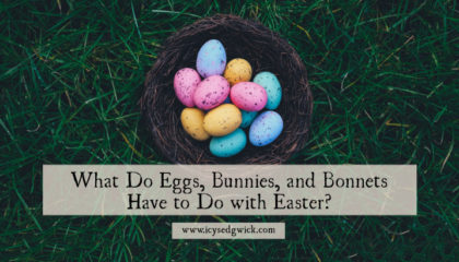 We often associate eggs, rabbits, and fancy hats with Easter. But where did these links come from? Click here to find out how they came about.