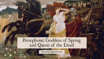 Most people know Persephone due to her abduction by the god Hades. But how does she balance her role as spring goddess and Queen of the Dead? Find out here.