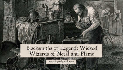 Blacksmiths have long been revered and feared thanks to their skills with fire and metal. In legend, saints and sinners play the role of smith. Learn more.